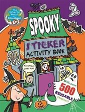 NEW Simon Abbott SPOOKY STICKER ACTIVITY book with 500 REUSABLE STICKERS