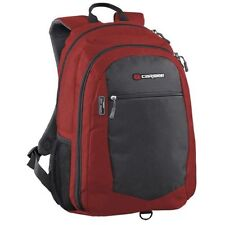 """[ CARIBEE ] 15.4"""" Data Laptop Notebook Daily Bag Busniess Red/Charcoal Backpack"""