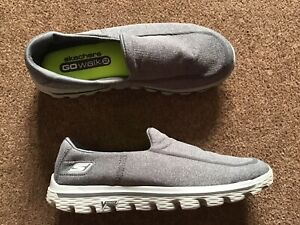 Men's SKECHERS Go Walk 2 Casual Shoes. Size 8. Grey.