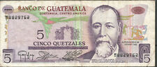 GUATEMALA 5 Quetzales 1983 P60c  VF  S8829762