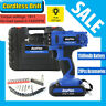 """Dayplus 3/8"""" 21V Lithium-Ion Battery 2-Speed Cordless Electric Drill Power Tools"""