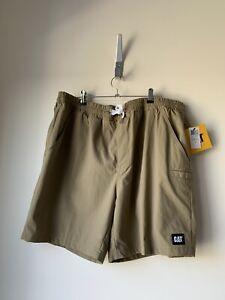 CATERPILLAR Mens Nylon Shorts Have Pockets Size 38 BRAND NEW