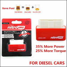 Autos OBD2 Plug&Drive Fuel Saver OBD2 Performance Chip Tuning Box for Diesel Car