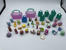 Shopkins Food Pets Moose Toys Lot 40 pcs Mixed Seasons Collectibles Rare