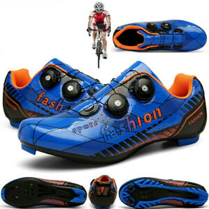Professional MTB Road Bike Shoes Sport Self-Locking Bicycle Sneakers Spin Cleats