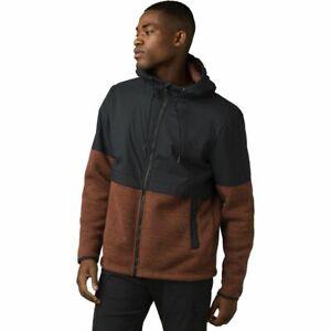 "prAna ""Tri-Thermal Threads"" Full-Zip Hybrid Jacket Coat, NWT - Mens L - Polartec"
