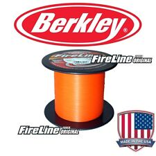BERKLEY Fireline Tournament Blaze Orange 0,39 mm 100 m           max.1800m