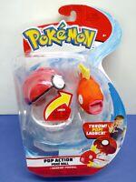 BRAND NEW- Pokemon Pop Action Poke Ball Magikarp+Pokeball