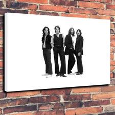 "The Beatles Caja impresa cuadro lienzo A1.30""x20"" 30 mm Marco Profundo música FAB 4"