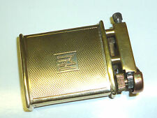 RAYSON LIFTARM POCKET LIGHTER W. 9 CARAT GOLD CASE - FEUERZEUG - 1938 - ENGLAND