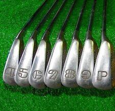 Spalding Executive Iron Set 4-PW Stiff Flex Matching Orig Shafts -Good Condition