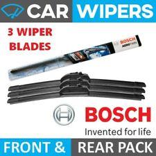 VW Passat Saloon 97-02 Bosch Aerotwin Front & Rear Windscreen Wiper Blades