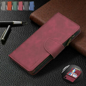 Leather Wallet Magnetic Flip back case Huawei P40 Y9Prime Y5/Y6/Y7 2019 Y5P Y6P
