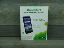 CRICKET ALCATEL VERSO Prepaid Android Smartphone 16GB 4G LTE - NEW SEALED!!