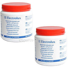 2 x Carbon Filter Refill Activated Granules for BEKO Charcoal Cooker Hood 480g