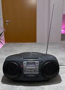 SONY CFD-360 CD Radio Cassette-Corder Mega Bass Kassetten-Rekorder mit CD-Player