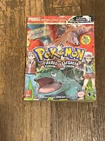 Pokemon Fire Red And Leaf Green Prima Official Game Guide Nintendo GameBoy