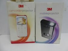 3M High Definition Camcorder and 3M Mobile Projector 2 PCS (FOR PARTS ONLY)