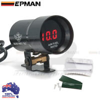 AIR FUEL Gauge EPMAN 37mm Compact Micro Digital Smoked Lens Universal Fit