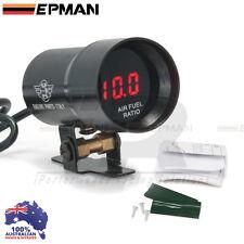 AIR FUEL Gauge EPMAN 37mm Compact Micro Digital Smoked Lens Universal Fit