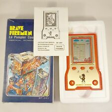 1983 Tronica - No Nintendo Game & Watch - Brave Firemen Mint / Complete in box