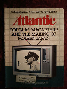 ATLANTIC July 1978 Douglas Macarthur William Manchester William Hoffman