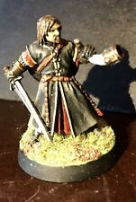 Boromir Painted Metal Miniature - LOTR War Of The Ring Battles - Games Workshop