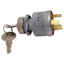 Golf Cart Key Switch EZGO 1968+ with Factory Lights 4 Terminal 33639G01 (KEY-51)