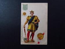 PC UK GB Raphael Tuck Kings & Queens of England William I Patronum bol Normanno