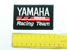 Aufnäher Aufbügler Patch Yamaha Racing Team R1 R6 V-max