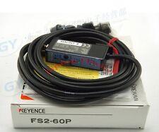 1PC New KEYENCE Fiber Amplifier Sensor FS2-60P