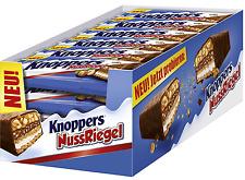 (1000g=13,01€) Knoppers Nussriegel - Schokoriegel Riegel - NEUHEIT - 24 Stück