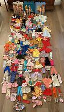 Huge Lot Vintage Barbie Dolls Ken , Skipper, Liddle Kiddle Clothes Accessories