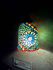 Glass Mosaic Art Hanging Night lamp Chandelier Home Decor Home Ware Handicraft