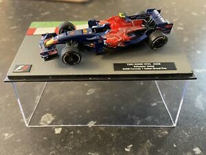F1 Car Collection Toro Rosso STR3 2008 Sebastian Vettel - 1/43 Scale -Superb