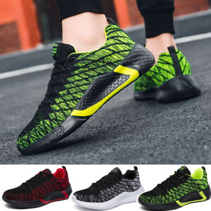 Men's Sneakers Casual Running Walking Trainers Sports Athletic Tennis Shoes Gym
