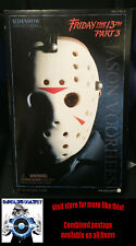Sideshow Friday the 13th Part 3 horror figure - vintage 1/6 Jason Voorhees