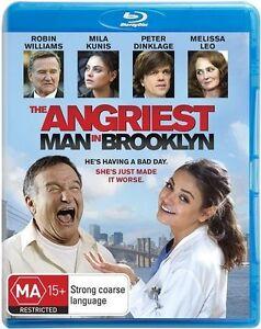 The Angriest Man In Brooklyn BLU-RAY Robin Willaims - Blu Ray REGION B AUSTRALIA