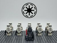 Star Wars Darth Vader Stormtrooper Empire Army Set 11 Minifigures Lot For Lego