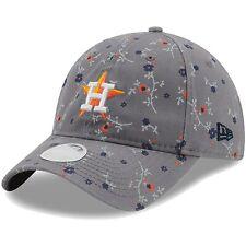 Houston Astros New Era Women's Blossom 9TWENTY Adjustable Hat - Gray