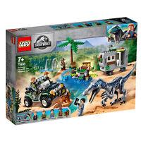 75935 LEGO Jurassic World Baryonyx Face-Off: The Treasure Hunt Dinosaur 434pcs
