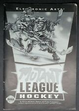 "GENESIS MANUAL ONLY  :     TITLE   "" MUTANT LEAGUE HOCKEY  """