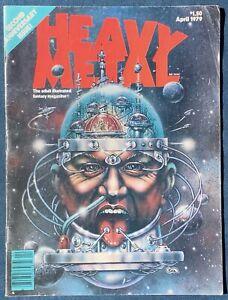 Heavy Metal Magazine  April 1979   Moebius