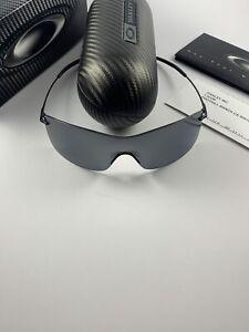 Oakley Nanowire 3.0 Polished Black/Black Iridium Polarized 12-919+Box GI Joe NEW