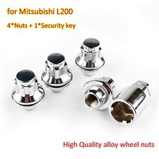 Butzi 12x1.50 Chrome Anti Theft Locking Wheel Bolt Nuts /& 2 Keys to fit Mitsubishi Outlander