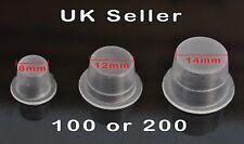 Ink Cups Pigment Tattoo Microblading Plastic Premium Caps Disposable Pots UK