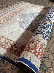 Auth: 70's Silk Hereke   600 KPSI  Signed  Turkish  Collectors Master Pc 4x6  NR
