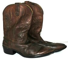 Woman's Dan Post Size 5 1/2 M Leather  Western Boots