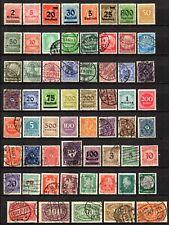 Deutsches Reich - lot de timbres tous différents.