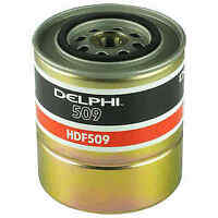Delphi Diesel Fuel Filter HDF509 - BRAND NEW - GENUINE - 5 YEAR WARRANTY